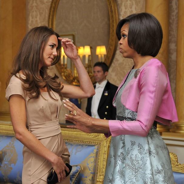 'Botox orgânico' usado por Michelle Obama teria sido indicado por Kate Middleton
