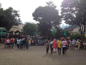Evento dos três anos da tragédia em Teresópolis (Foto: Guilherme Peixoto/Intertv)