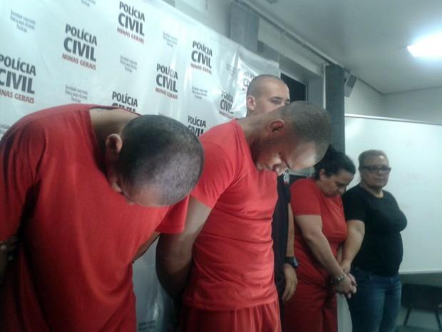 Suspeitos, Caso Larissa, Extrema, Pouso Alegre (Foto: Daniela Ayres/ G1)
