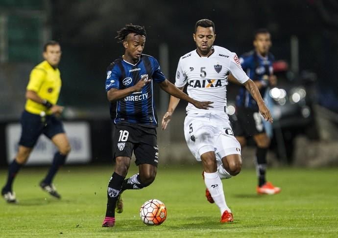 Orejuela; Rafael Carioca; Independiente del Valle x Atlético-MG; Libertadores (Foto: EFE)