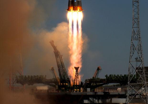 Nave russa havia sido lançada em abril (Foto: AP)