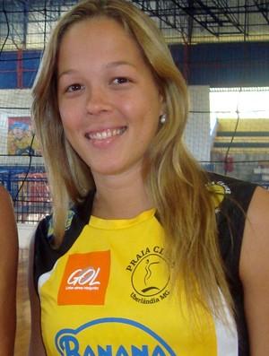 Monique Pavão, vôlei Praia Clube (Foto: Divulgação/Assessoria)