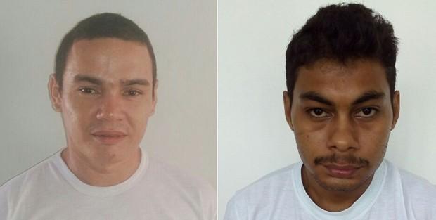 Weldon da Silva Nascimento, mais conhecido como 'Macarrão', e David Sales da Silva, o 'Quixabeirinha', foram encontrados mortos na Cadeia Pública de Mossoró (Foto: Sejuc/Divulgação)