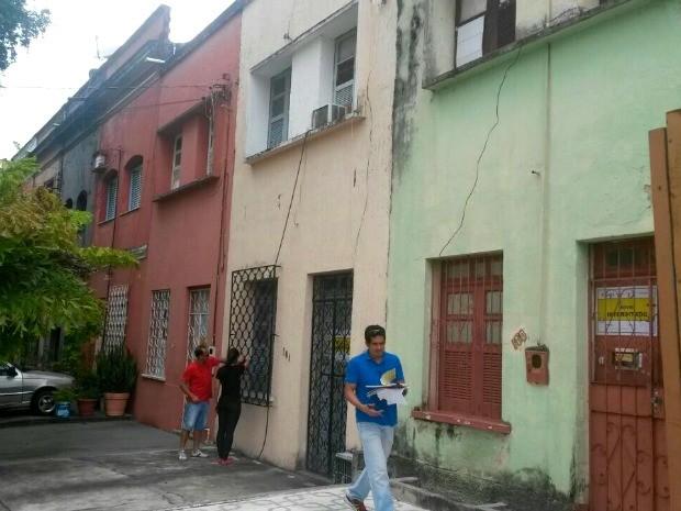 Casas ficam situadas na Rua Dr. Agripino, na Aparecida, Zona Sul de Manaus (Foto: Divulgação/Implurb)