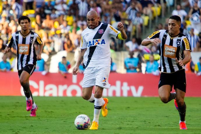Guinazu Vasco gilberto Botafogo  (Foto: Paulo Fernandes / Vasco.com.br)