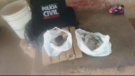 Polícia prende três homens suspeitos de tráfico de drogas em Três Pontas