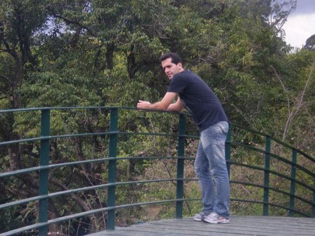 Vitor Lansky, brasileiro que mora em Tel Aviv (Foto: Arquivo pessoal)