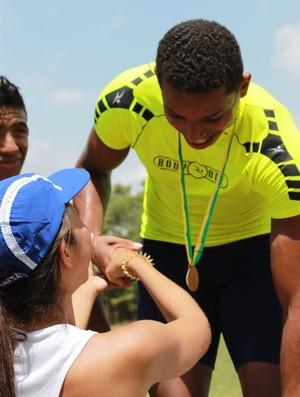Kaio Guimarães velocista atletismo Piauí (Foto: n)