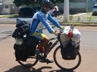 Homem fala de aventura em bike após perder emprego: do RS ao México