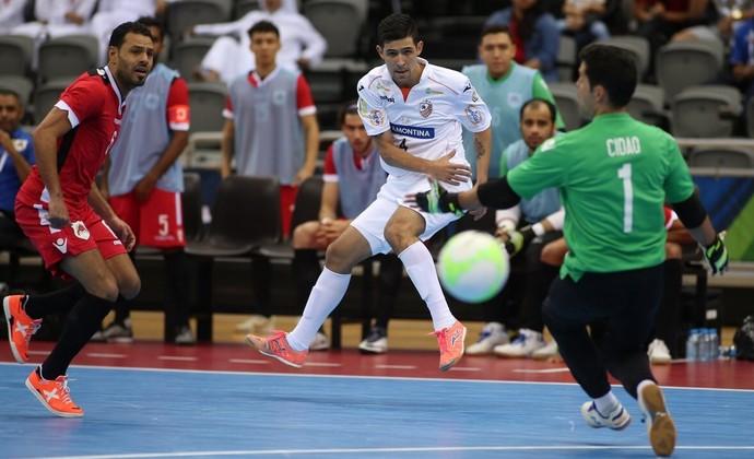 Carlos Barbosa x Al Rayyan semifinal Copa Intercontinental de Futsal (Foto: Qatar Football/Divulgação)