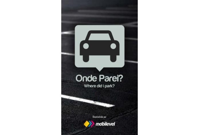 O app Onde Parei também informa o local onde o carro está estacionado (Foto: Divulgação)