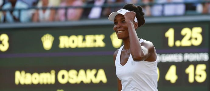 Venus Williams garantiu vaga nas oitavas de final de Wimbledon (Foto: REUTERS/Stefan Wermuth)