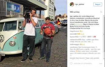 Splitter, Serginho, Yane, Ana... Atletas olímpicos homenageiam cinegrafista