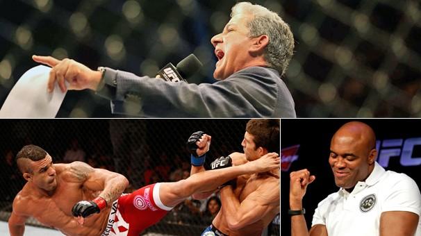 Em 2015 tem a quarta temporada do TUF, em Las Vegas, e as lutas de Vitor Belfort e de Anderson Silva no UFC (Foto: Getty Images)