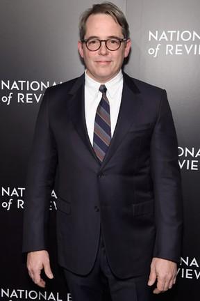 Matthew Broderick em evento em Nova York, nos Estados Unidos (Foto: Jamie McCarthy/ Getty Images/ AFP)