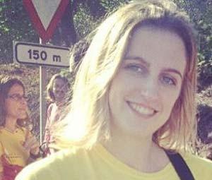 Ariadna Falguera, mulher do chefe de gabinete de presidente de partido catalão, é uma das vítimas da queda do avião da Germanwings (Foto: Reprodução/Instagram/ Ariadna Falguera)