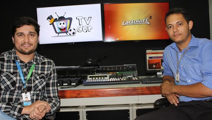 A liga TVCUP existe há dois anos. Hudson e Daniel são os presidentes (Foto: Vilma Nascimento/GloboEsporte.com)