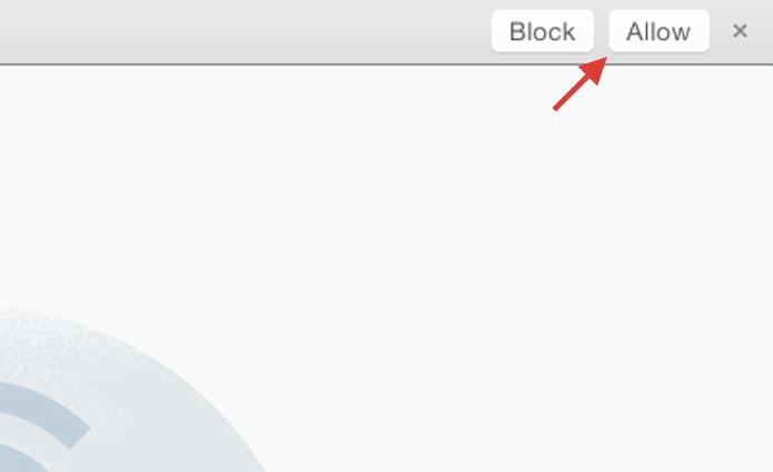 Permitindo que o seu navegador web envie notificações do WhatsApp Web para área de trabalho (Foto: Reprodução/Marvin Costa)