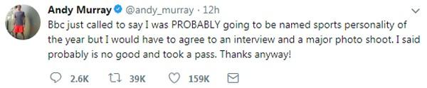 Trolada de Andy Murray (Foto: reprodução/ Twitter)