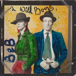 David Bowie e William Burroughs em foto de Terry O'Neill (Foto: Divulgação/Victoria and Albert Museum)