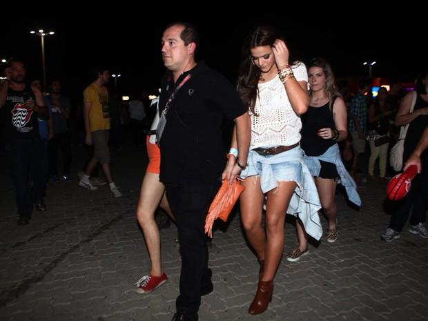 Resultado de imagem para Bruna Marquezine chega escoltada a camarote no Rock in Rio