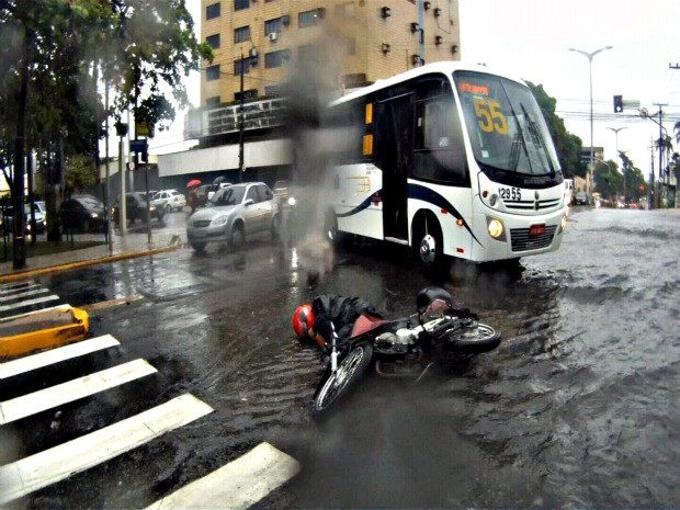 Acidente (Foto: TV Verdes Mares/ Reprodução)