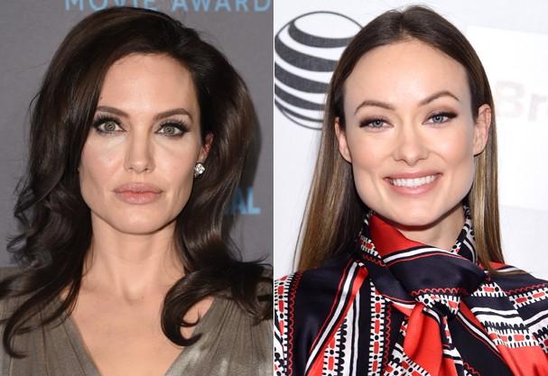 Formato de rosto perfeito  É com Angelina Jolie e Olivia Wilde mesmo! (Foto 972d163227