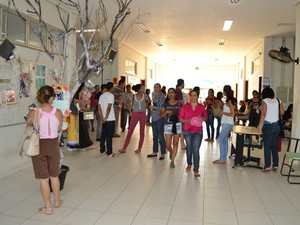 20% dos candidatos não compareceram às provas pela manhã (Foto: Bianca Zanella/Dicom UFT)