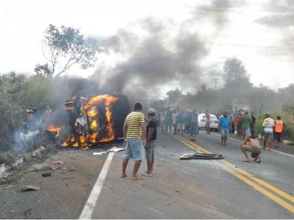 Uma falha mecânica pode ter causado o acidente (Foto: Denison Duarte)