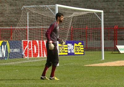 Daniel goleiro Mogi Mirim (Foto: Reprodução / EPTV)