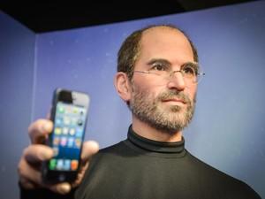 Uma das imagens do museu retrata o falecido empresário Steve Jobs,  da Apple (Foto: Divulgação / Dreamland)