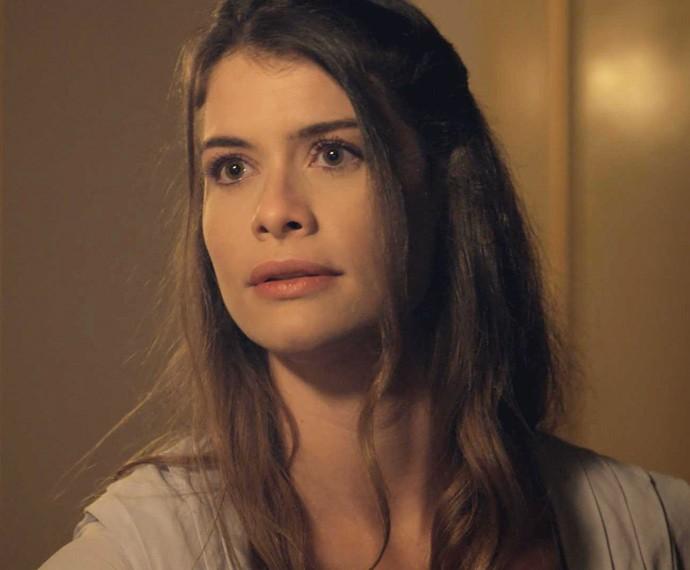 Lívia abre o coração e se declara: 'Eu amo você!' (Foto: TV Globo)