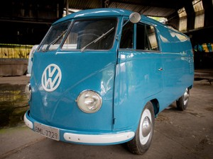 Transporter Panelvan, 1950 (Foto: Flavio Moraes / G1)