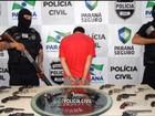 Polícia prende suspeito de invadir fórum e roubar armas no Paraná