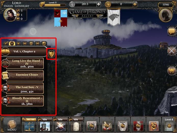 O livro de missões ajuda o jogador a desenvolver seu personagem e a progredir pela história do game (Foto: Reprodução/Daniel Ribeiro)
