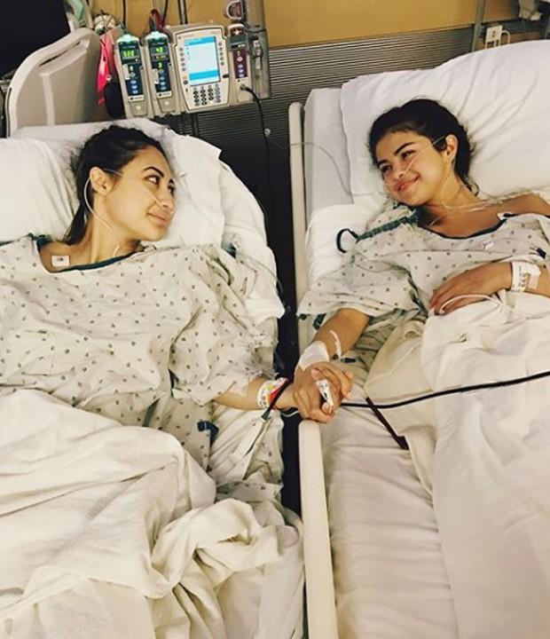 Francia Raisa e Selena Gomez (Foto: Reprodução/Instagram)
