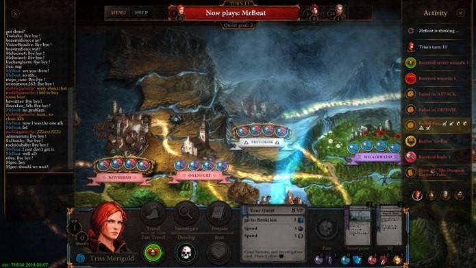 Jogador deve visitar as localizações e realizar ações (Foto: Reprodução / Dario Coutinho)