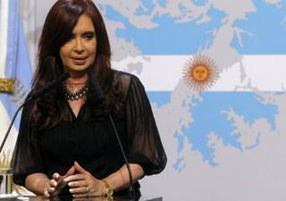 Cristina responsabiliza políticos mentiros por incitar violência (Foto: AFP)