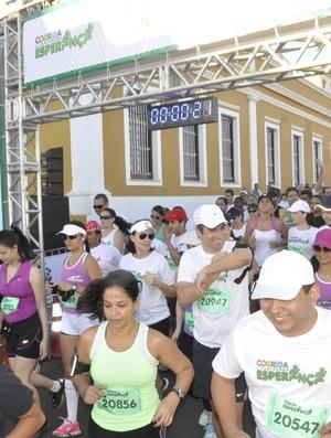 Corrida e Caminhada Esperança Cuiabá 2013 (Foto: Ulisses Lalio)