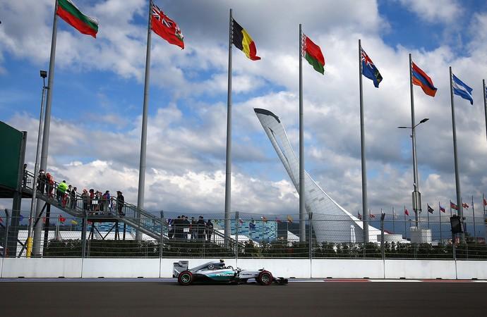 Nico Rosberg treino Socho Fórmula 1 (Foto: Getty)