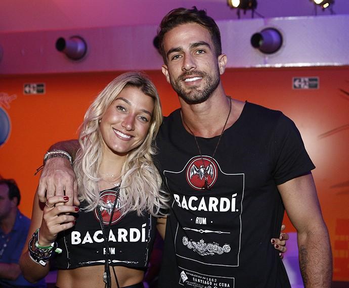 Pugliesi e o namorado Erasmo Viana (Foto: Inácio Moraes/Gshow)