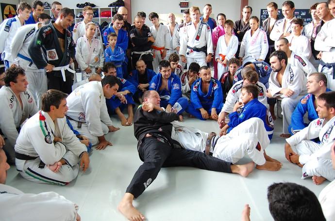 Jiu Jitsu treino em Porto Alegre academia Sul Jiu-Jitsu (Foto: Bruno Junqueira | TXT Assessoria)