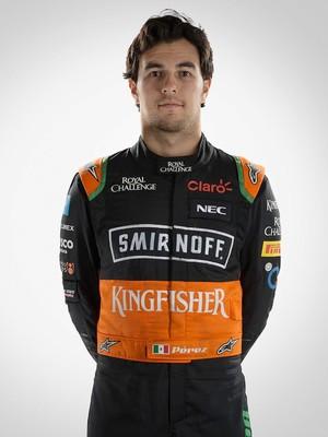 SERGIO PEREZ FORCE INDIA formula 1 (Foto:  Divulgação / Site oficial F-1)