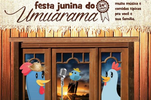 Circuito Festa Junina Uberlandia : Rede globo gt circuito junino festa junina do umuarama