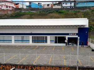Ação ocorreu durante a madrugada (Foto: Juliana Cavalcante/TV Bahia)