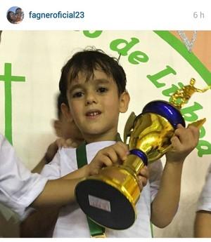Fagner Corinthians Filho (Foto: Reprodução/Instagram)