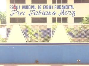 Escola Frei Fabiano Messi (Foto: Reprodução/TV Tapajós)