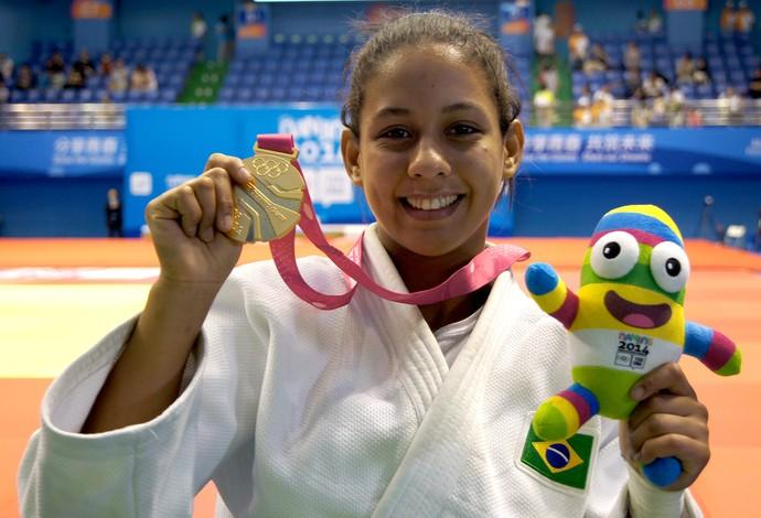 Layana Colman medalha Jogos Juventude (Foto: Thierry Gozzer)