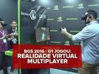 Realidade virtual na BGS: G1 faz duelo de magias e 'escala' o Everest