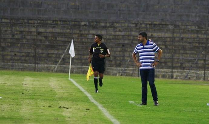 Brasiliense x Anapolina Série D Campeonato Brasilieiro Marcos Soares (Foto: Claudio Reis / BrasilienseFC)